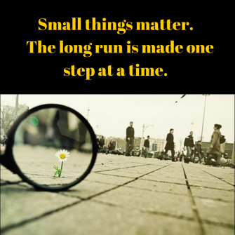 Image result for small things matter