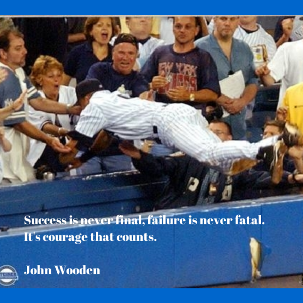 It is Courage That Counts